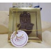 Chocolate Personalizado Símbolo Hamsá - Rosh Hashaná