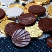 Moedas de Chocolate Sabores