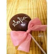 Pirulito de Chocolate Personalizado