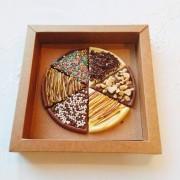 Pizza de chocolate