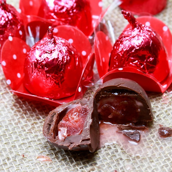 Bombom Cherry (licor de cereja) 6 unidades