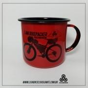 Caneca do Cicloaventureiro | I AM BIKEPACKER RED