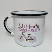Caneca do Cicloaventureiro | Juli Hirata - Extremos das américas
