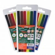 Kit 10 canetinhas lavável com 6 cores - leoleo