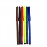 Kit 50 canetinhas lavável com 6 cores - leoleo