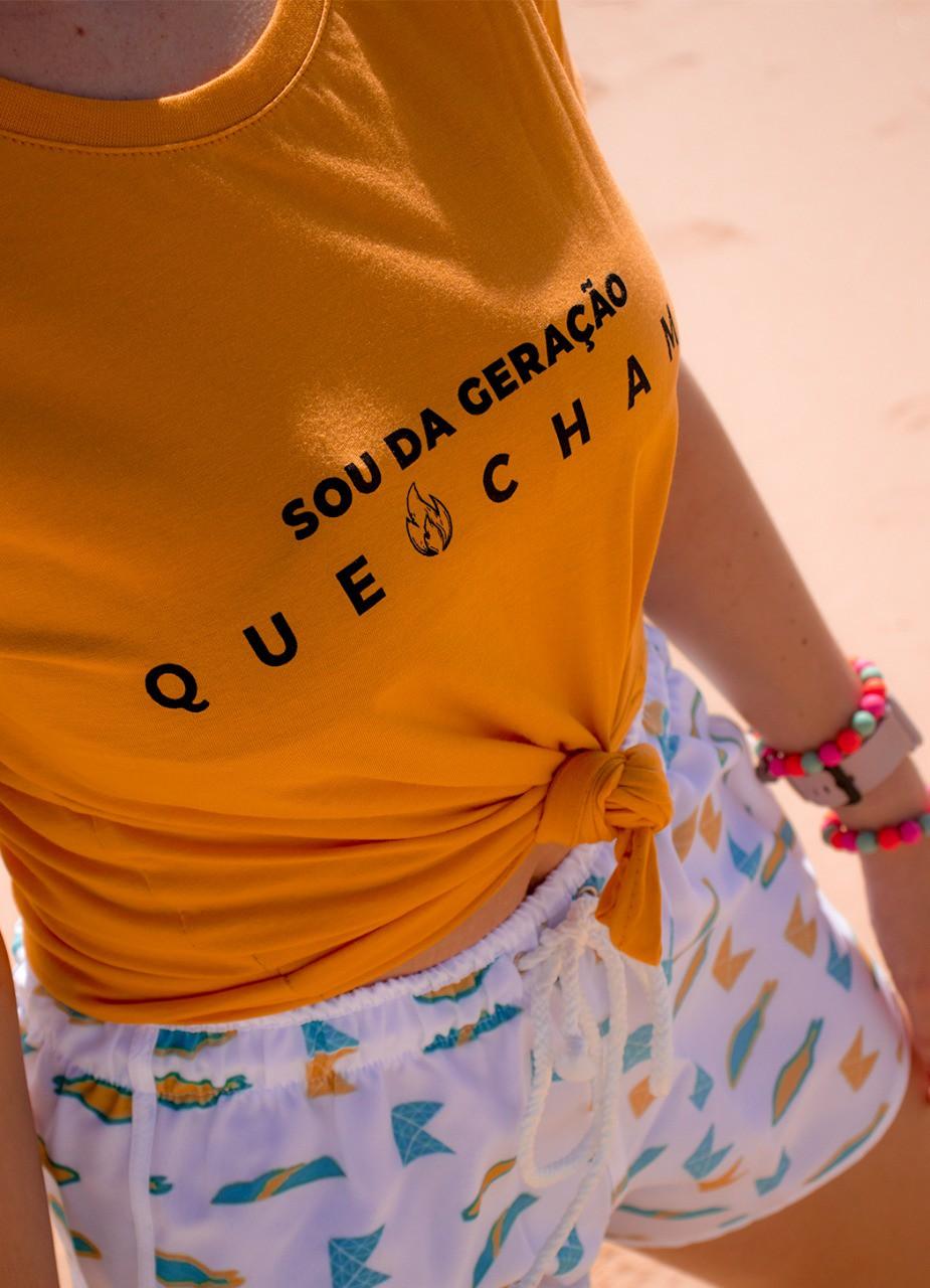 Camisa Babylook | Sou da geração que chama