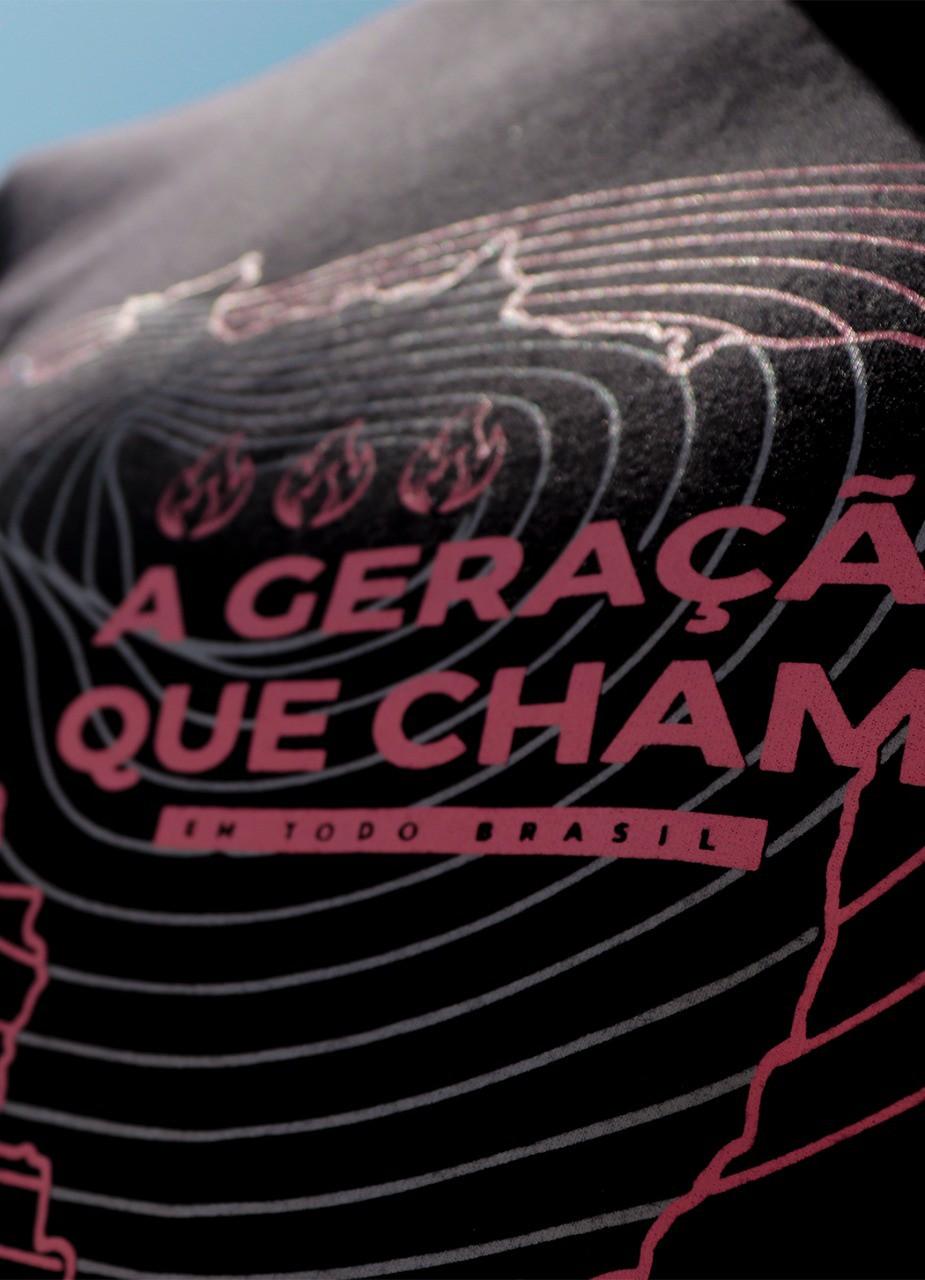 Camiseta | Em todo o Brasil Preta