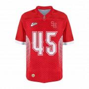 Camisa Of.  Araras Steel Hawks Jersey Plus Inf. Mod1