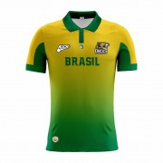Camisa Of. Brasil Onças Tryout Polo Masc. Mod1