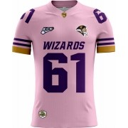 Camisa Of. Brasília Wizards Tryout Masc. Outubro Rosa