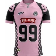 Camisa INFANTIL Bulldogs F. A. Tryout Outubro Rosa