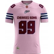 Camisa INFANTIL Cherries Bomb Tryout Outubro Rosa