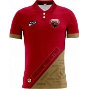 Camisa Of. Contagem Inconfidentes Tryout Polo Masc. Mod2