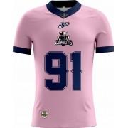 Camisa Of. Jacarehy Cowboys Tryout Masc. Outubro Rosa