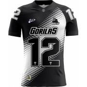 Camisa Of. Ponte Preta Gorilas Tryout Fem. Mod2