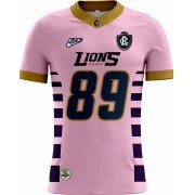 Camisa Of. Remo Lions Tryout Masc. Outubro Rosa