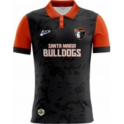 Camisa Of. Santa Maria Bulldogs Tryout Polo Fem. Mod1