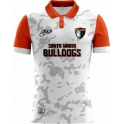 Camisa Of. Santa Maria Bulldogs Tryout Polo Fem. Mod2
