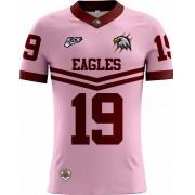Camisa Of. Santa Maria Eagles Tryout Masc. Outubro Rosa