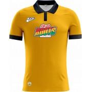 Camisa Of. São Luiz Roots Tryout Polo Masc. Mod1