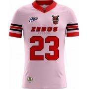 Camisa Of. Uberaba Zebus Tryout Masc. Outubro Rosa