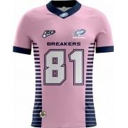 Camisa Of. Jaraguá Breakers Tryout Fem. Outubro Rosa