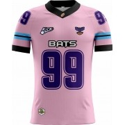 Camisa Of. Montes Claros Bats Tryout Fem. Outubro Rosa