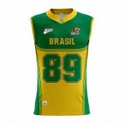 Regata Of. Brasil Onças Masc. Mod1