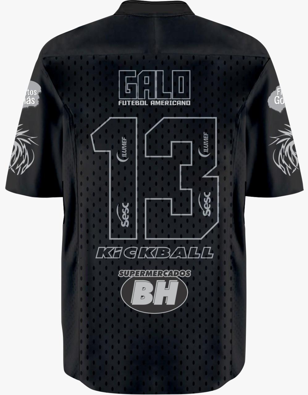 Camisa INFANTIL EDIÇÃO ESPECIAL 3 ANOS Galo FA Jersey Plus c/ Patrocinadores