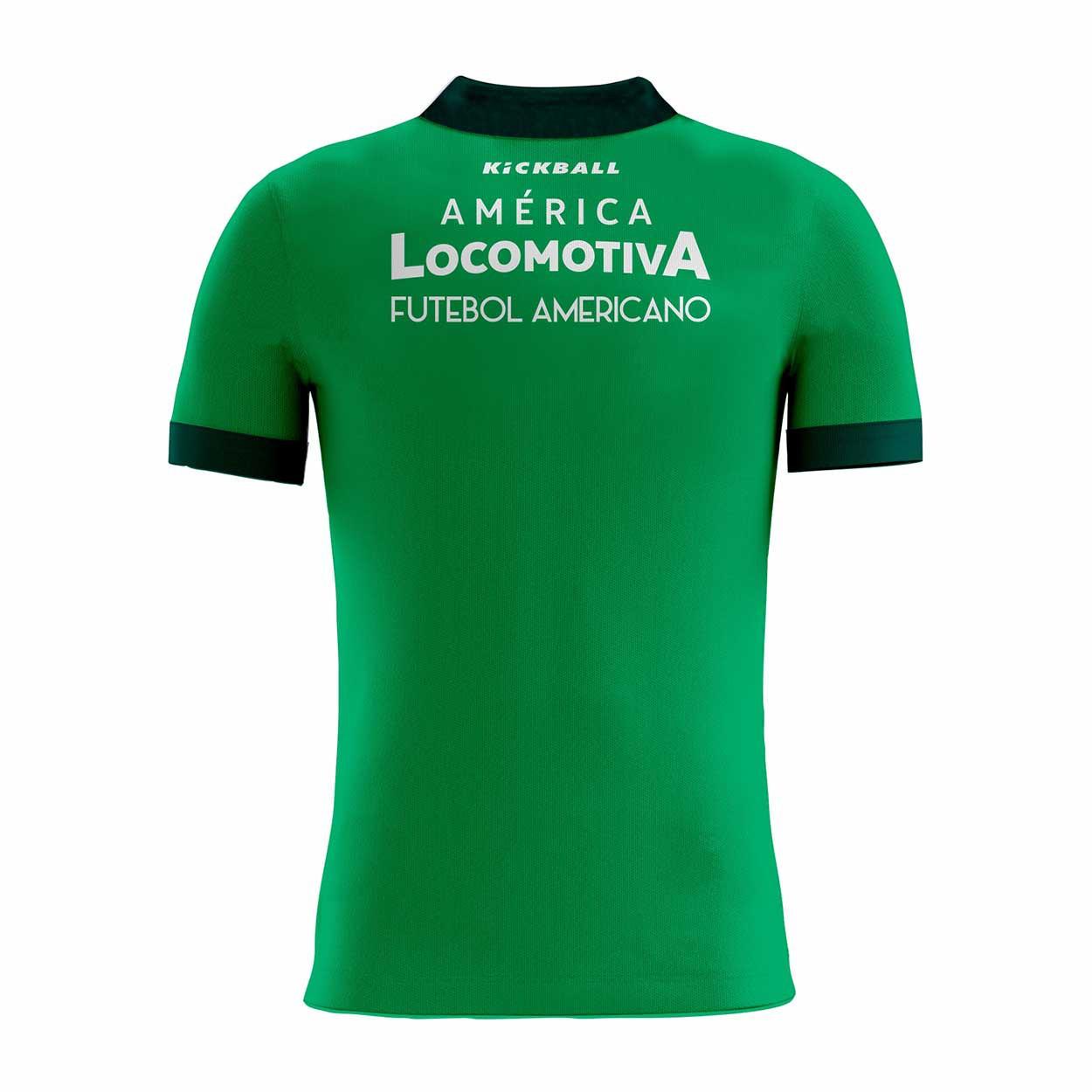 Camisa Of. América Locomotiva Tryout Polo Fem. Mod1