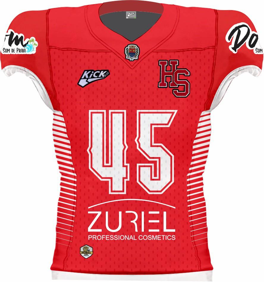 Camisa Of. Araras Steel Hawks Jersey Fem. JG1