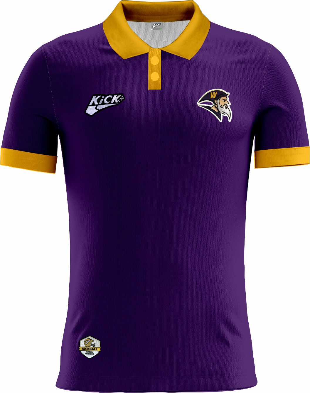 Camisa Of. Brasília Wizards Tryout Polo Fem. Mod1