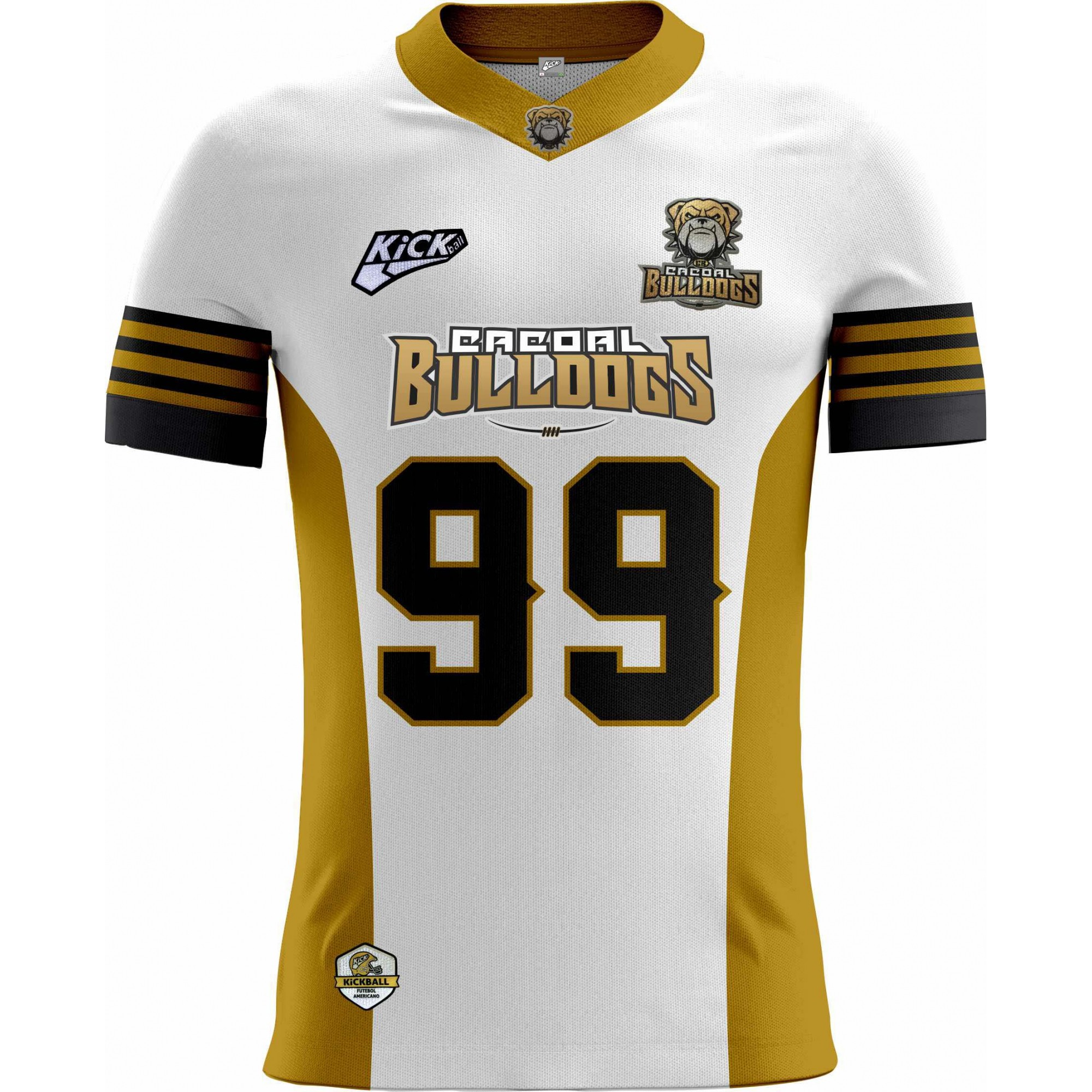 Camisa Of. Cacoal Bulldogs Tryout Masc. Mod1