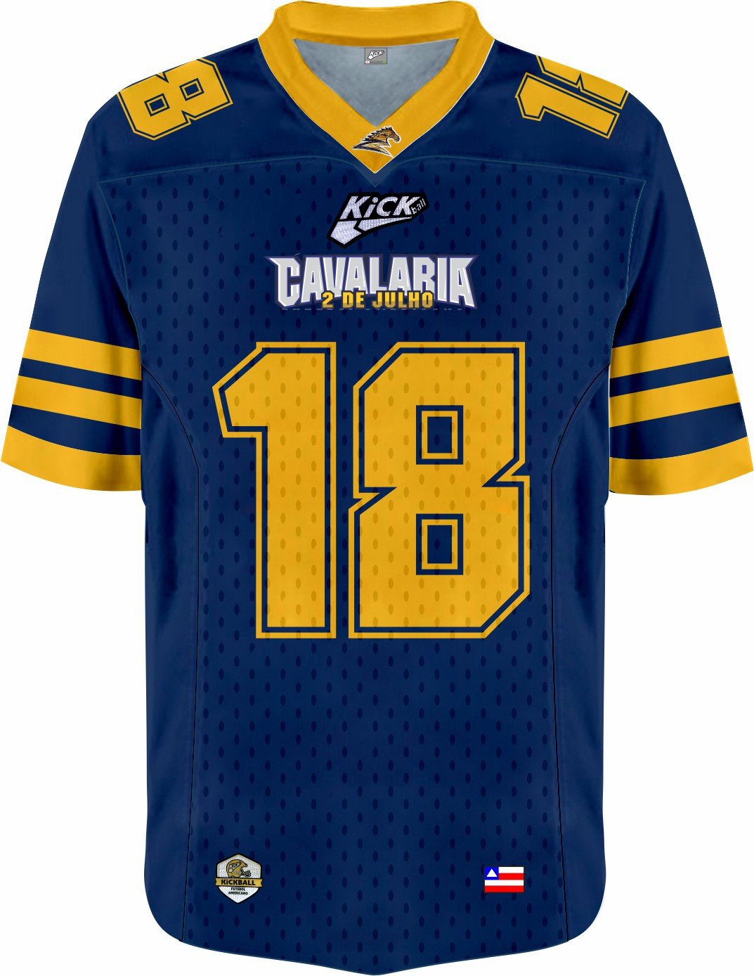 Camisa Of. Cavalaria  F.A. Jersey Plus Masc. Mod2