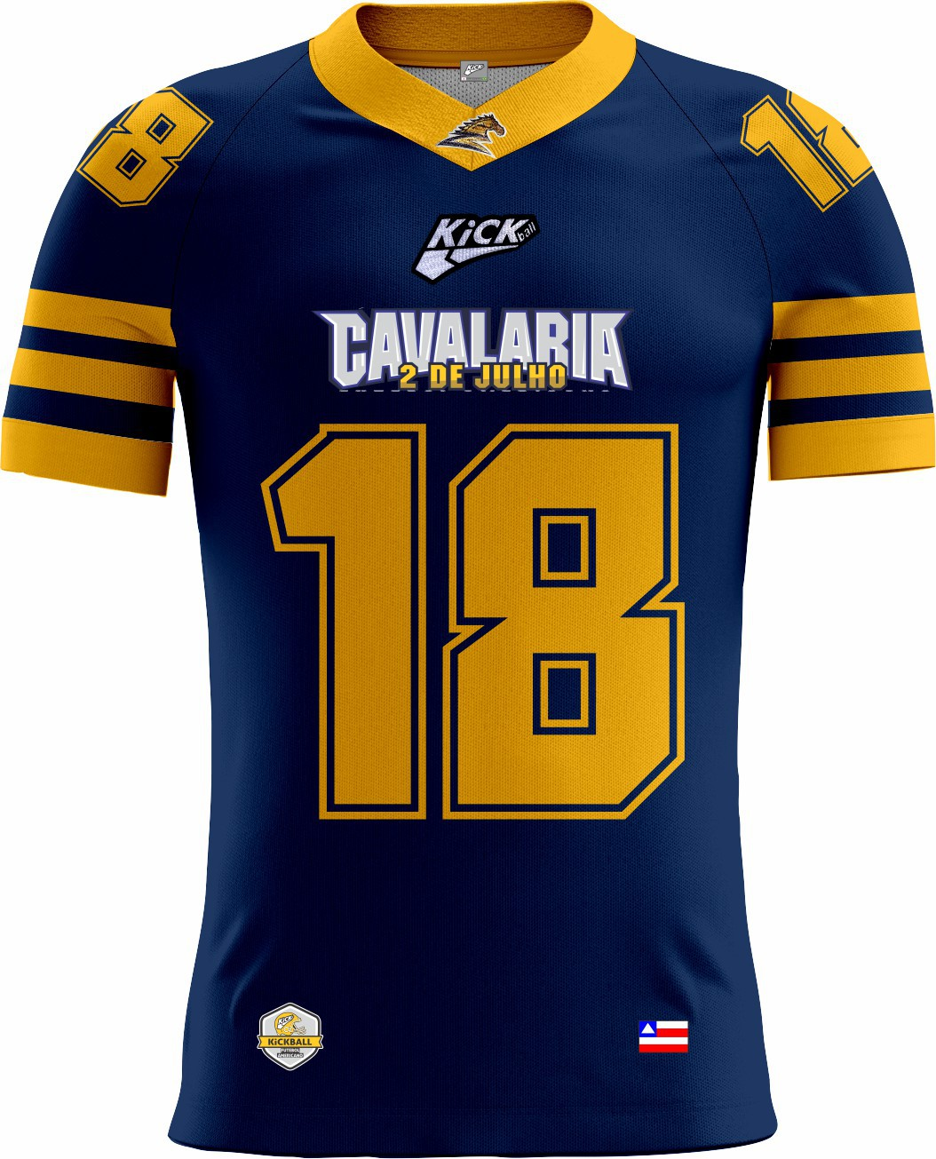 Camisa Of. Cavalaria  F.A. Tryout Masc. Mod2