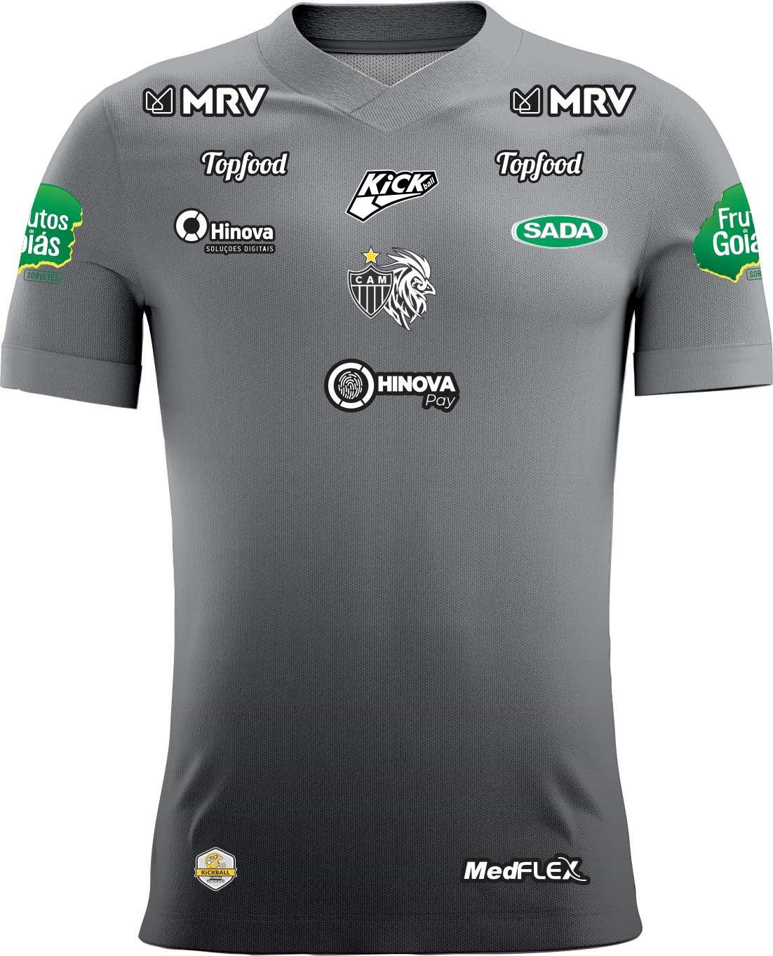 Camisa Of. Galo FA Comissão Técnica Treino Masculina