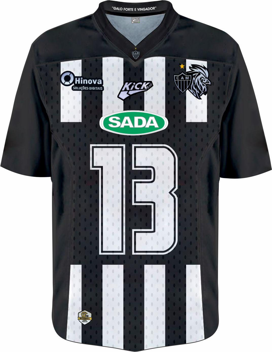 Camisa Of. Galo FA Jersey Plus Fem. JG3