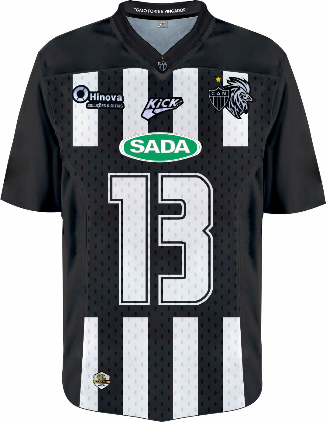 Camisa Of. Galo FA Jersey Plus Inf. JG3