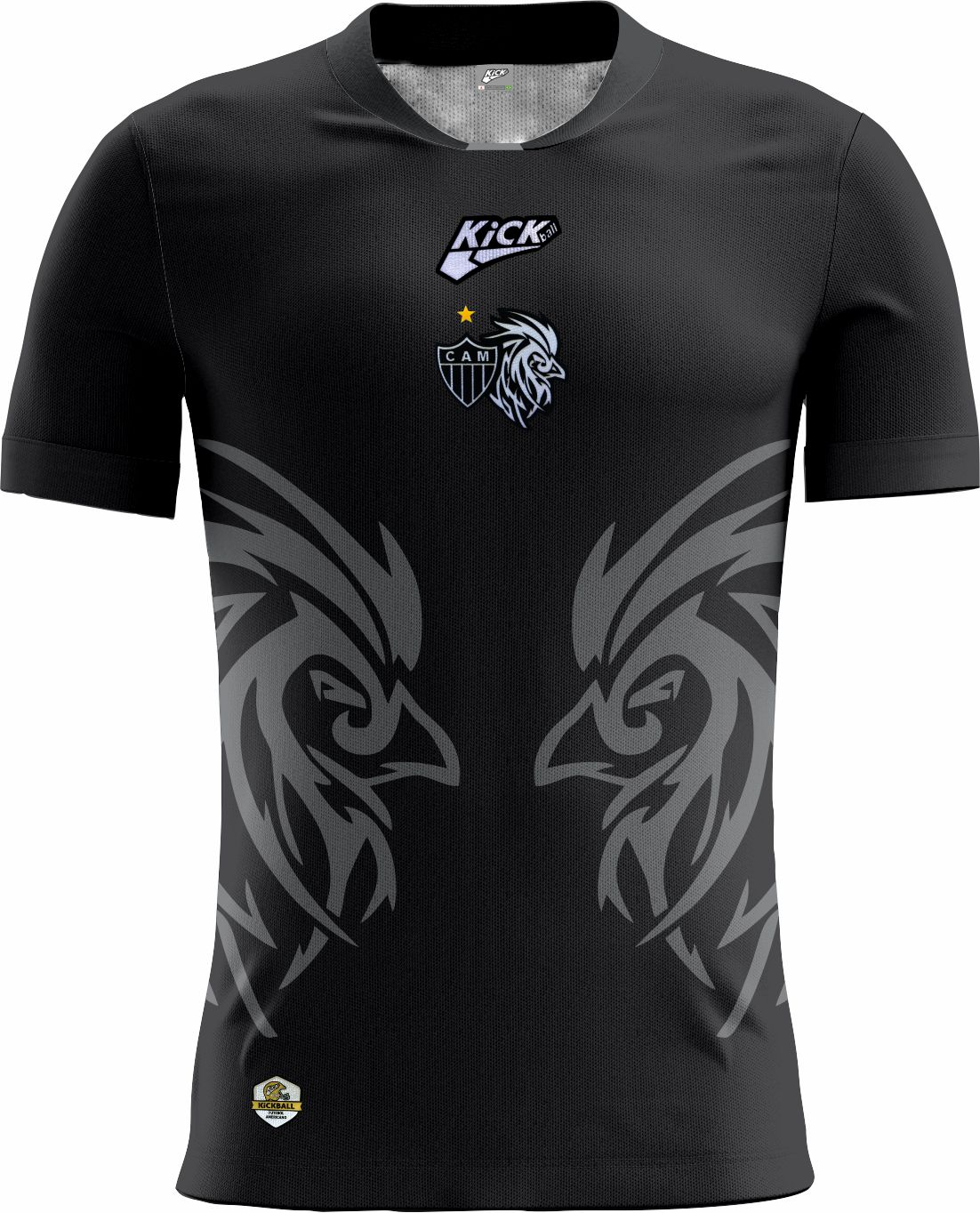 Camisa Of. Galo FA Tryout Inf. Mod6