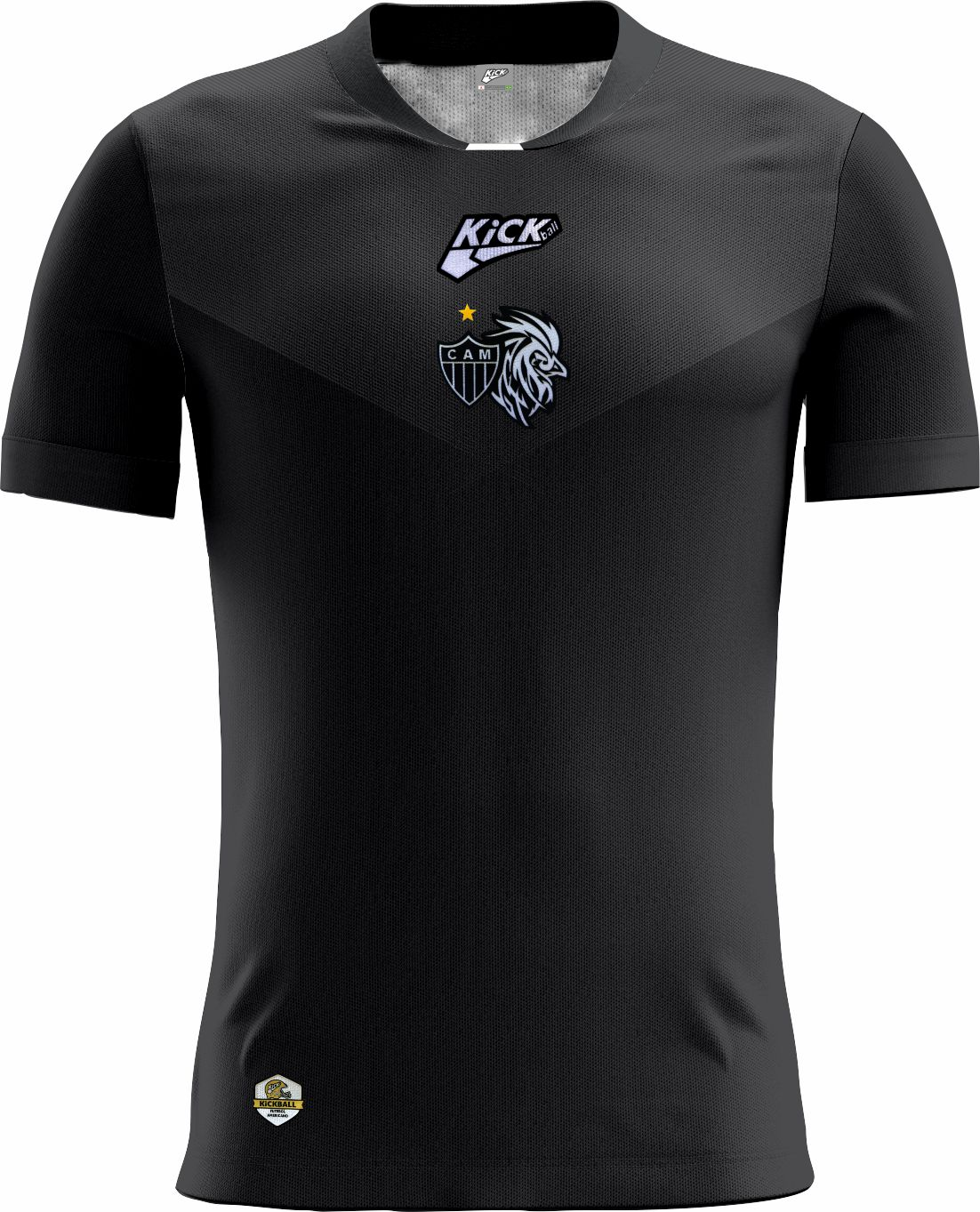 Camisa Of. Galo FA Tryout Inf. Mod8