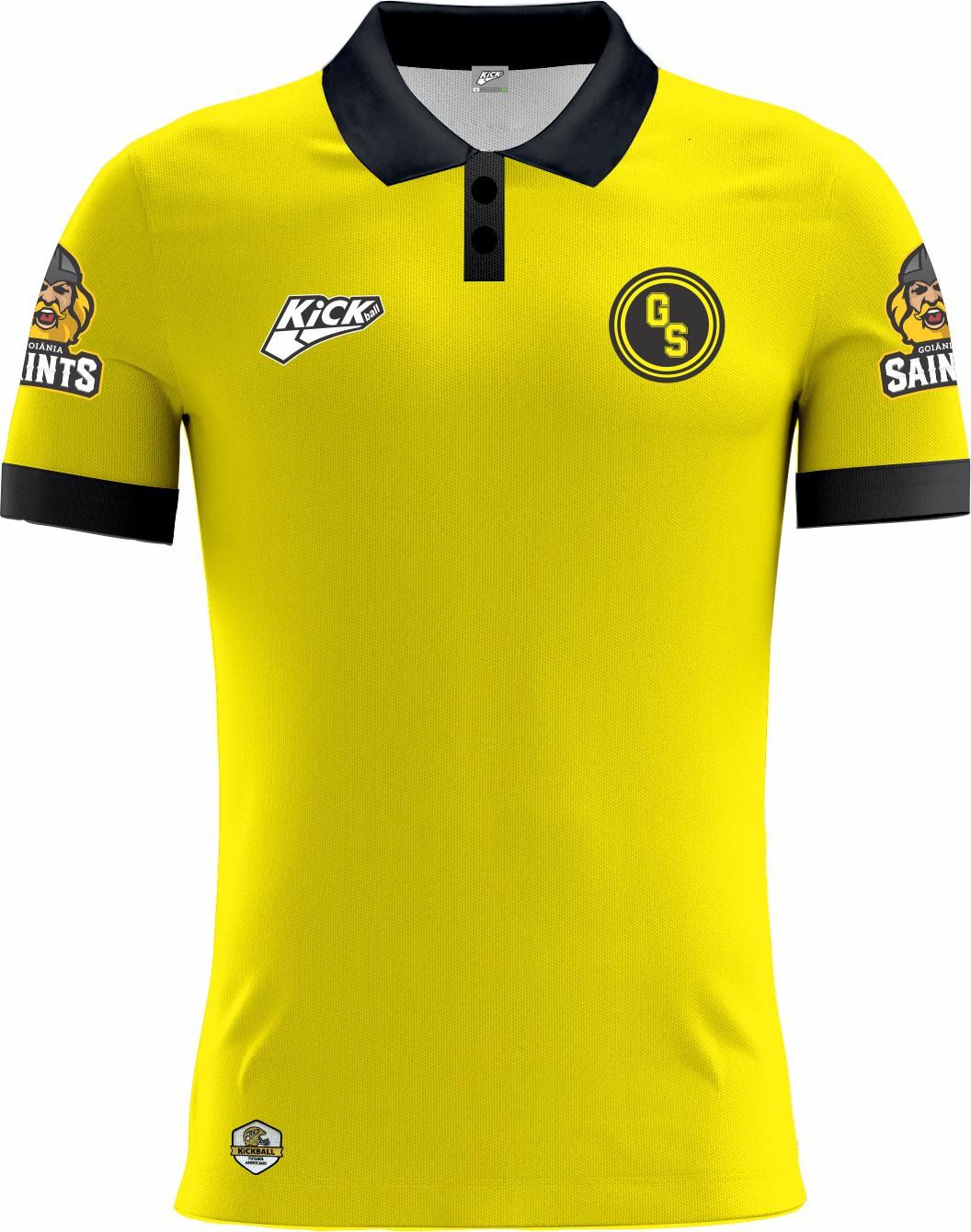 Camisa Of. Goiânia Saints Tryout Polo Masc. Mod2