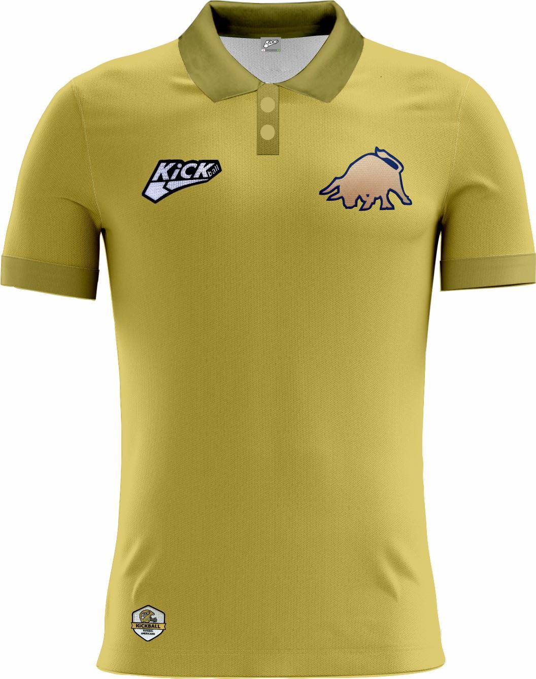 Camisa Of. Golden Bulls Tryout Polo Fem. Mod2
