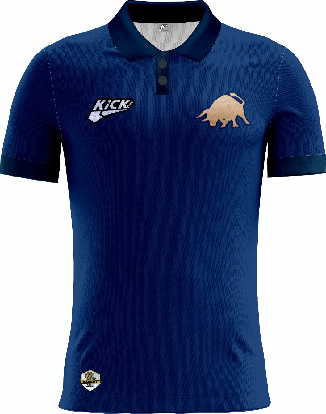 Camisa Of. Golden BUlls Tryout Polo Inf. Mod1