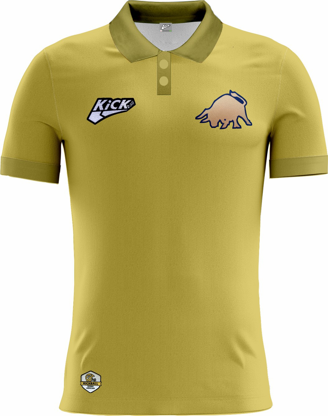 Camisa Of. Golden Bulls Tryout Polo Inf. Mod2