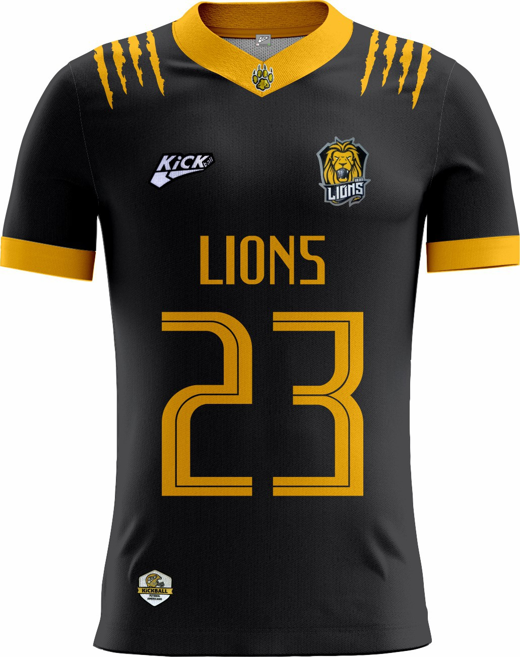 Camisa Of. Golden Lions Tryout Masc. Mod2