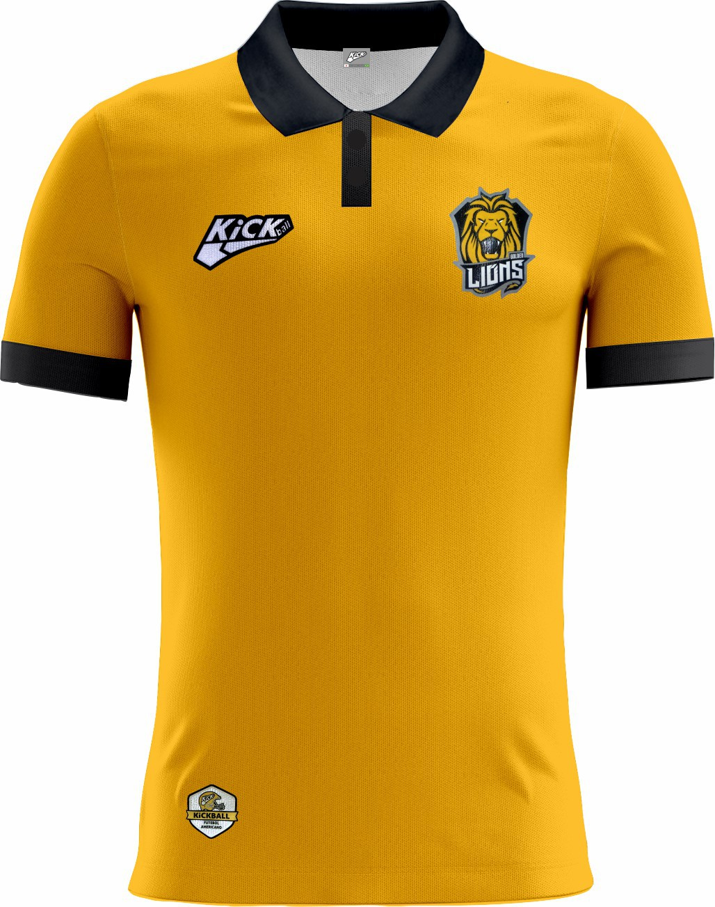 Camisa Of. Golden Lions Tryout Polo Masc. Mod1