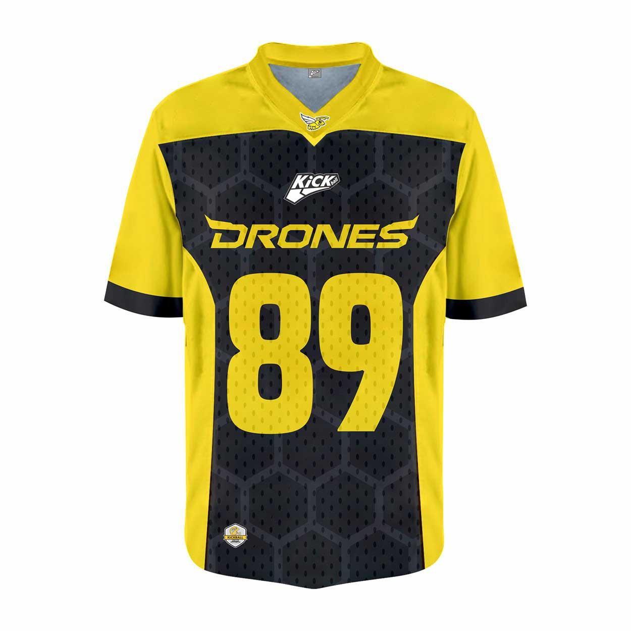 Camisa Of. Ijuí Drones Jersey Plus Fem. Mod2