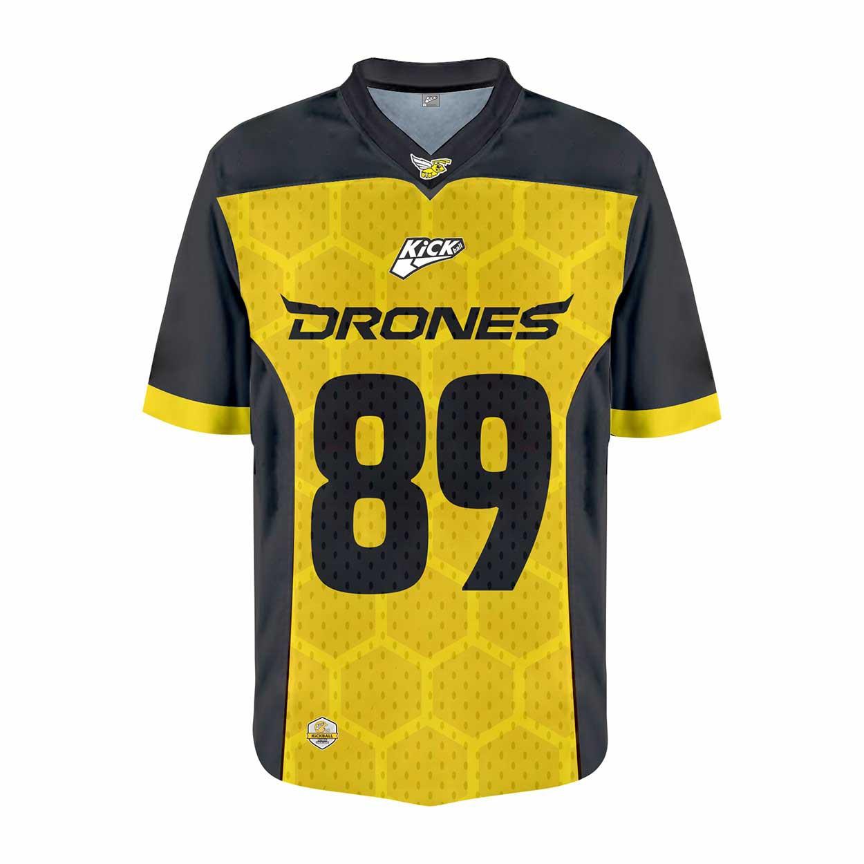 Camisa Of. Ijuí Drones Jersey Plus Masc. Mod1