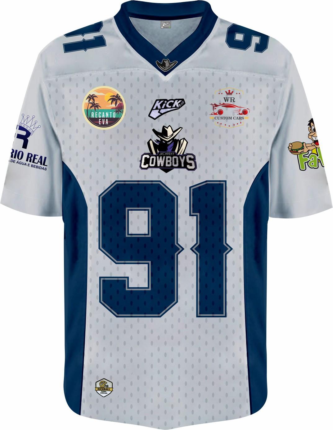 Camisa Of.  Jacarehy Cowboys Jersey Plus Inf. Mod1