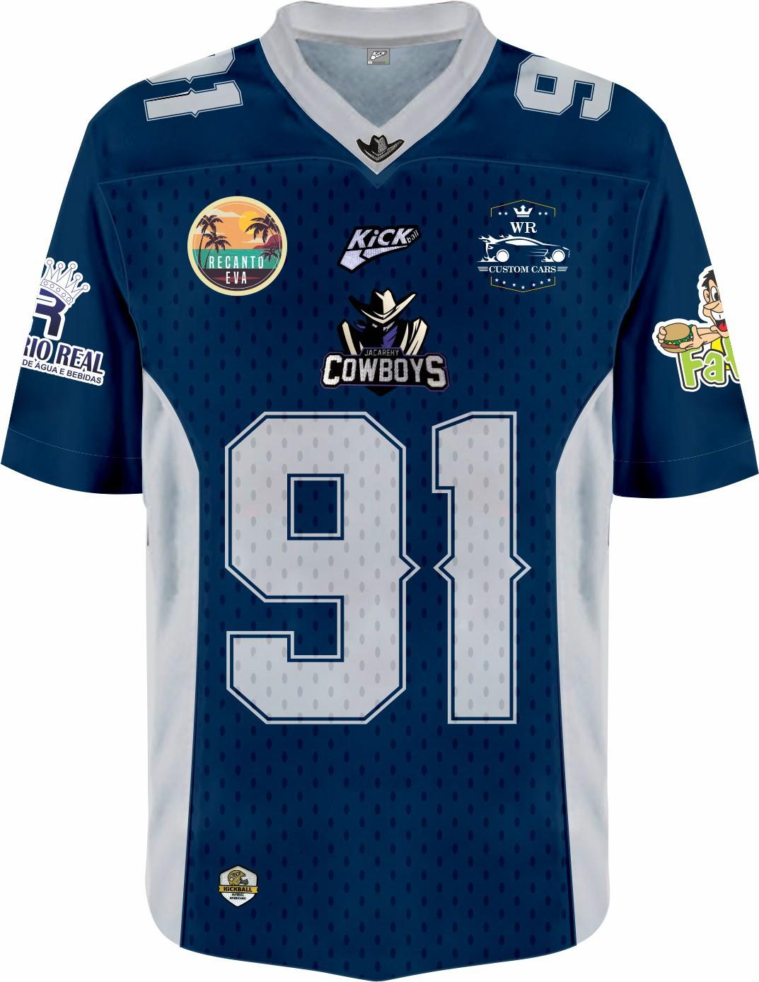 Camisa Of.  Jacarehy Cowboys Jersey Plus Inf. Mod2